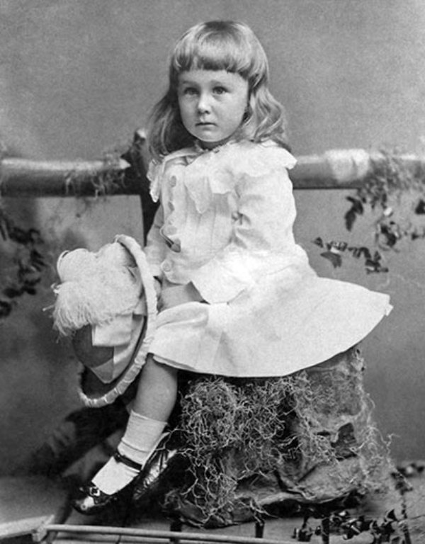 FDR as child
